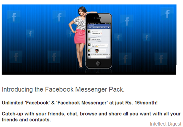 Relaince Facebook Offer