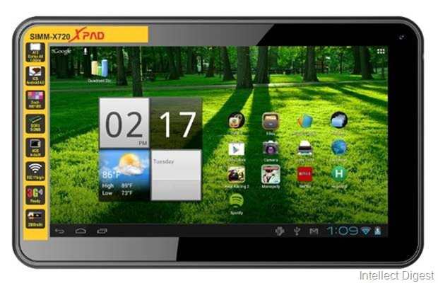 Simmtronics launches 7 inch tablet in India