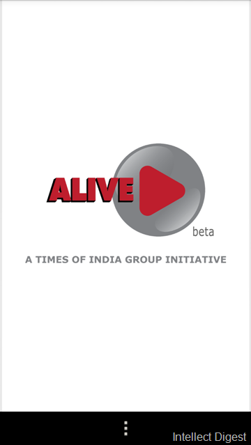 Times of India Alive Application