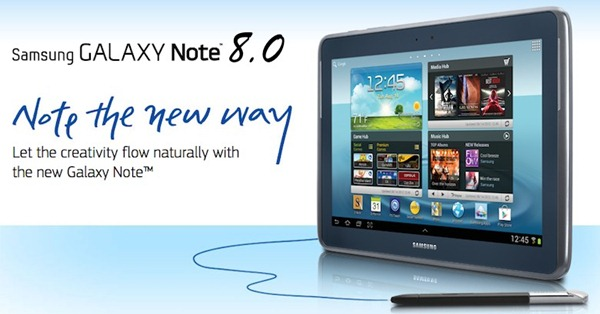 Samsung Note 8.0 With S-Pen