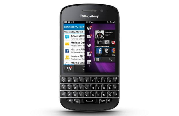 BlackBerry Q10 Launch
