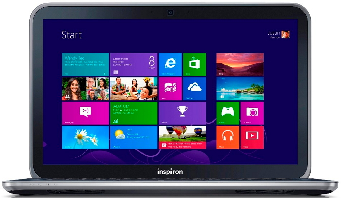 Inspiron 15z Touch Notebook
