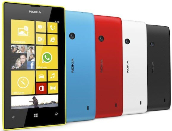 Nokia Lumia 720 and 520 Launched At MWC 2013 (2)