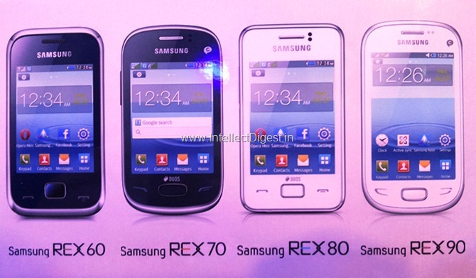 Samsung Rex 90, 80, 70 and 60