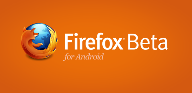 Firefox 20 beta for Android