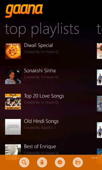 Review: Gaana new windows phone music streaming app