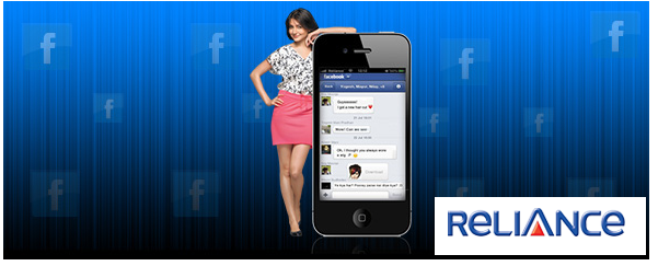 Discount On Facebook Access On Airtel And Reliance Mobile Networks
