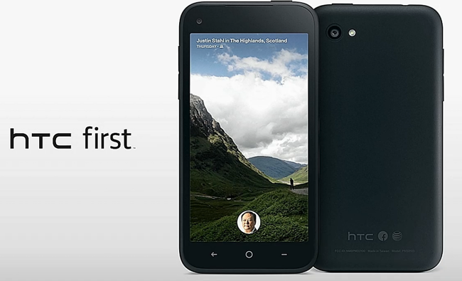HTC First Facebook Home Enabled Phone