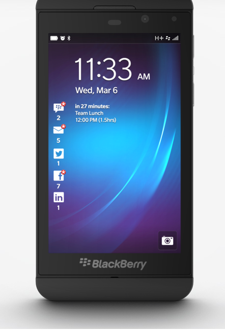 BlackBerry Z10 Mobile Phone   BlackBerry 10 Smartphone   India