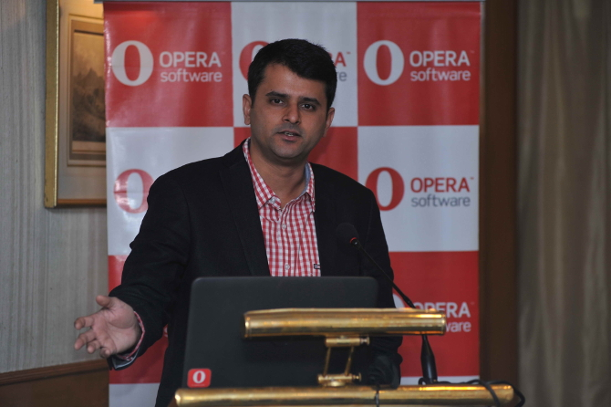 Mr. Sunil Kamath V.P for South Asia, Opera Software