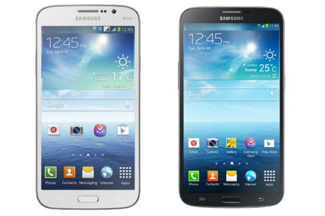 Samsung Galaxy Mega 6.3, 5.8 India Release