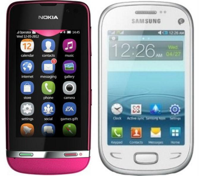 Nokia Asha-311 vs Samsung Rex 90