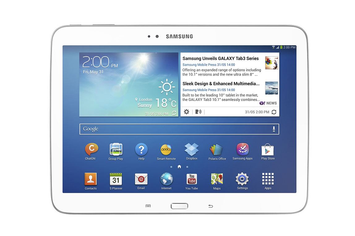 Samsung Galaxy Tab 3 8.0, Tab 3 10.1 Launch