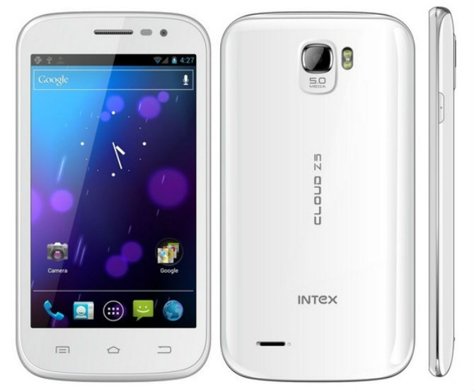 Intex Cloud Z5