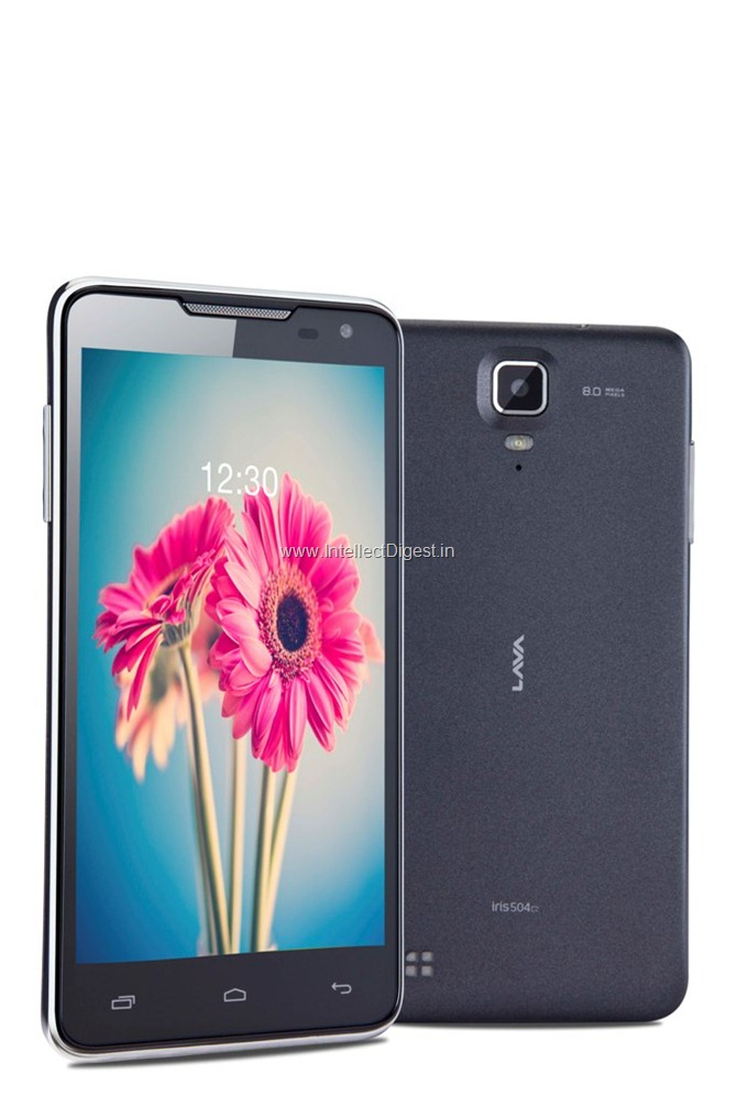 Lava iris 504q Android Mobile Phone (1)
