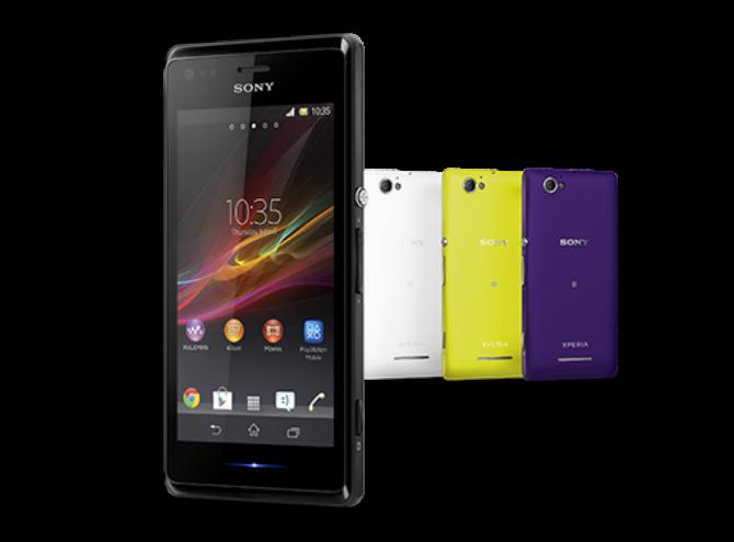 Sony Xperia M, M dual