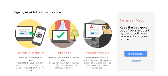 2-step verification introduction