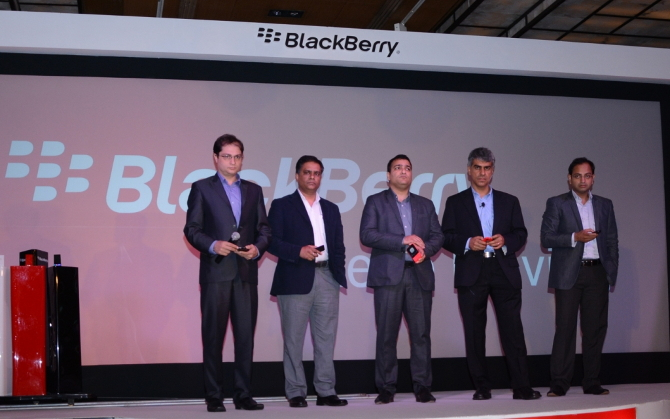 BlackBerry Q5 launch