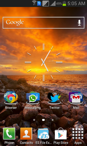 Samsung Galaxy Grand TouchWiz UI