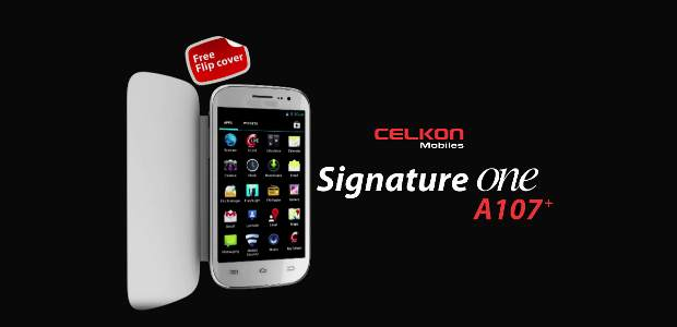 Celkon A107+ Signature One