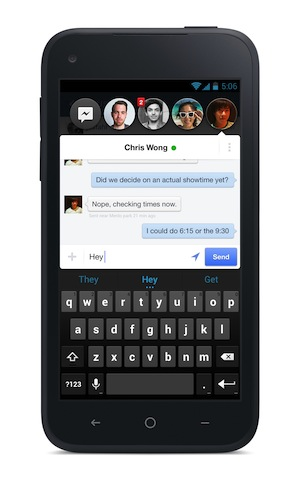 Facebook Messenger Chat Heads