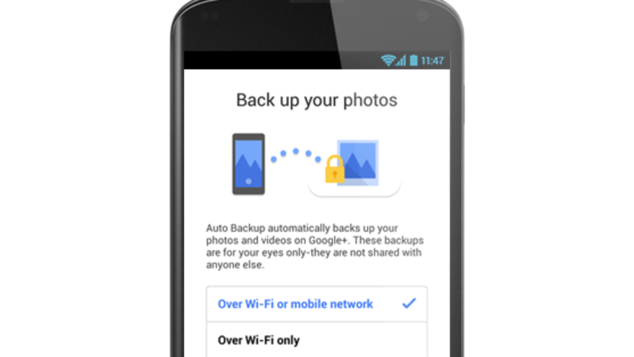 How-to] Enable Photo Backup on Google Plus on Android