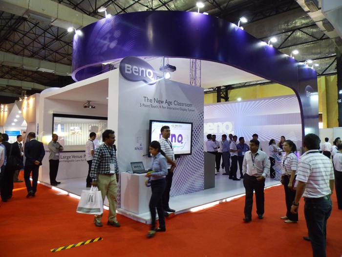 BenQ Booth at Infocomm INDIA 2013