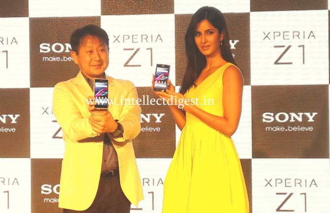 Sony Xperia Z1 Launch Katrina Kaif