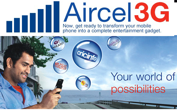 Aircel introduces cheaper 3G data plans