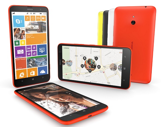 Nokia Lumia 1520 and 1320 biggest windows phones yet  launched