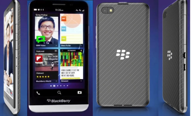 Blackberry's First 5 inch Smartphone Launched at INR 39,990