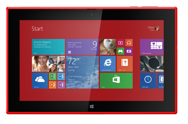 Nokia Entered in Tablet market, launched first 10 inch Nokia lumia 2520 tablet