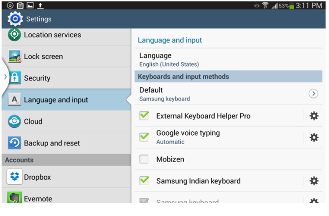 Disable Predictive Text Input In Android-4