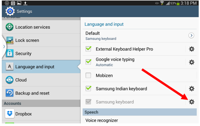 Disable Predictive Text Input In Android Keyboard