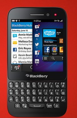 BlackBerry Q5 get a price slash available at 19,990 INR