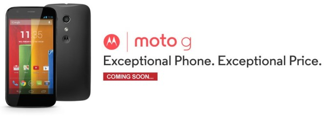 Moto G get listed on Flipkart , More offers will be declared on February 5