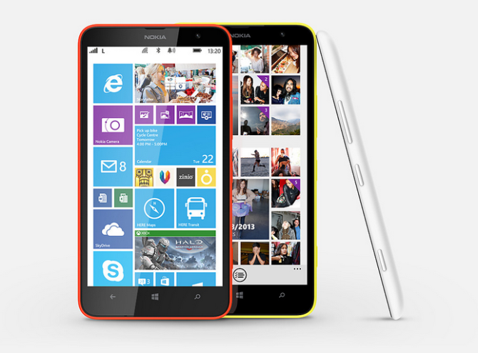 Nokia Lumia 1320 is now available in India at price INR 23,999