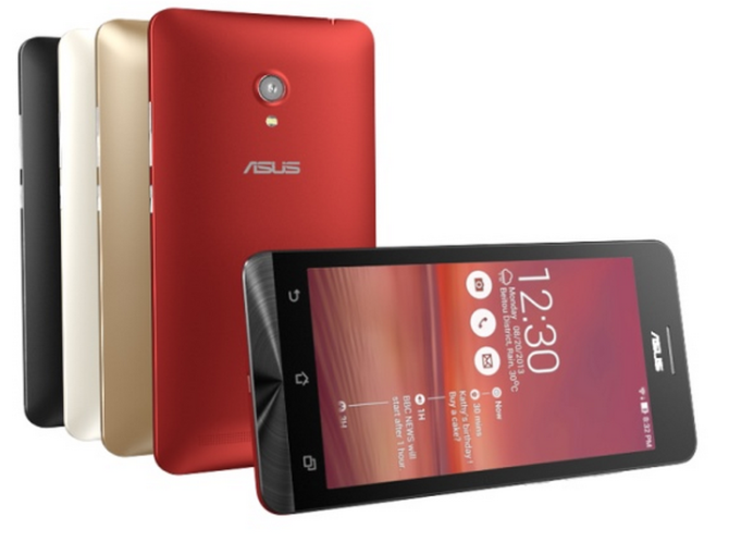 CES 2014:- Three new mid-range ZenFone Series Smartphones from Asus launched
