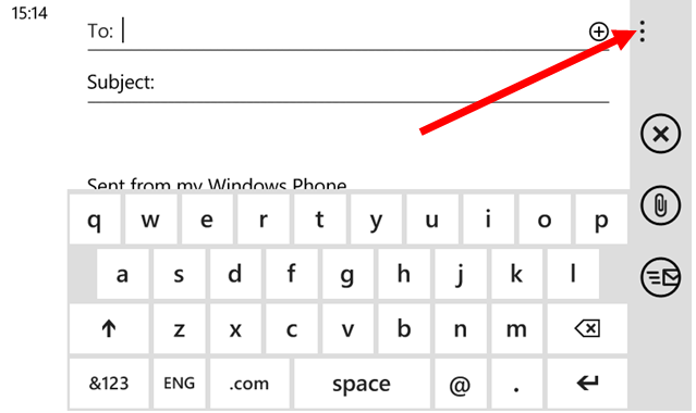 add cc and bcc email addresses on windows phone-4