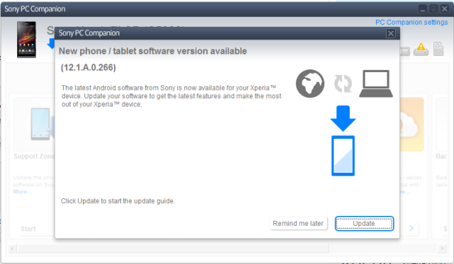 Sony is rolling out Android 4.3 update for Sony Xperia SP