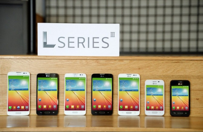 Three smartphones under LG L series announced with Android 4.4 KitKat