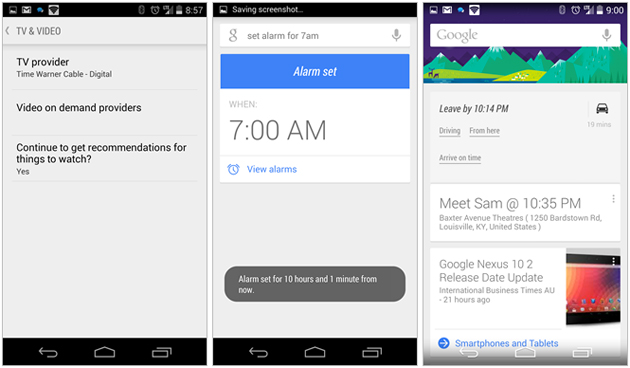 Google is rolling out Google Now update today, brings video and TV on demand