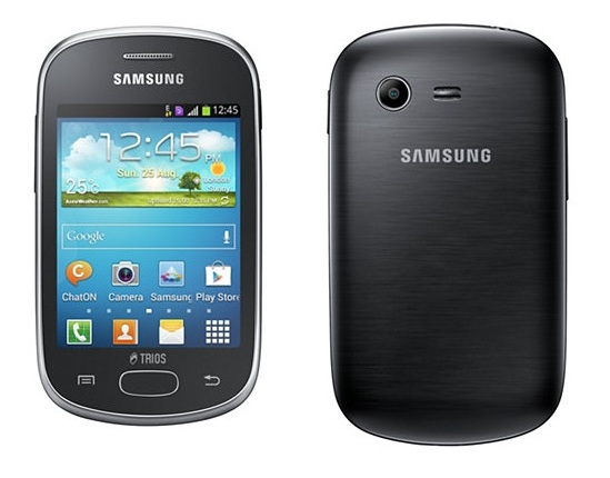 Samsung Galaxy Star Trios, a triple SIM Android powered smartphone launched in Brazil
