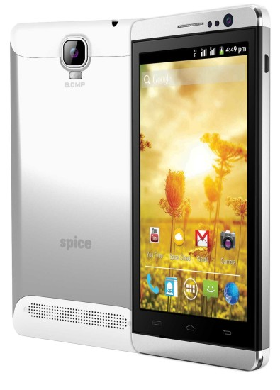 Spice Steller Mettle Icon with 5-inch display and dual core processor launched at INR 6,999