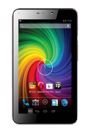 Micromax Funbook P365 voice calling tablet listed on company's website price INR 6,749