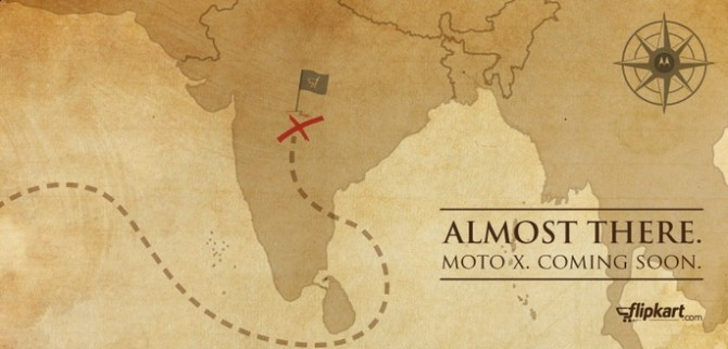 Flipkart posted tweet Moto X coming soon to India with exclusive offers