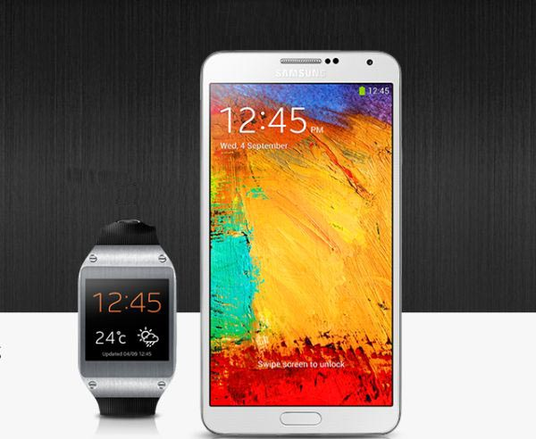 Samsung Galaxy Gear supports up to 20 devices Samsung Declared