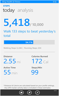 Bing Health And Fitness App Features (2)