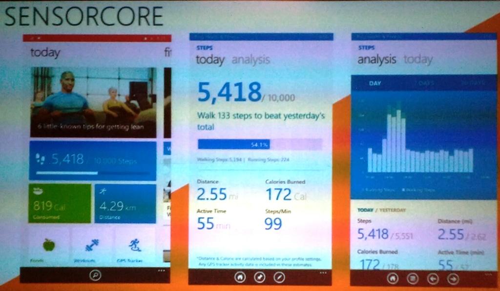 Nokia Lumia Bing Health And Fitness App Windows Phone 8.1