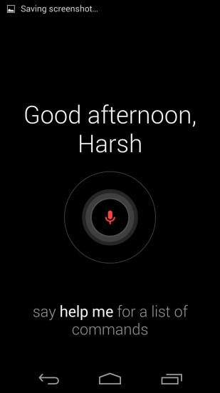 Google Now on Moto X